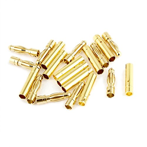 Dia Bullet (TOOGOO(R) 4mm Inside Dia Male Female Banana Plug Bullet Connector Replacement 10)