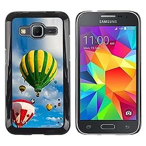iKiki Tech / Estuche rígido - Sky and balloons - Samsung Galaxy Core Prime SM-G360