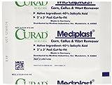 Curad Mediplast Corn, Callus & Wart Remover, 2 pads
