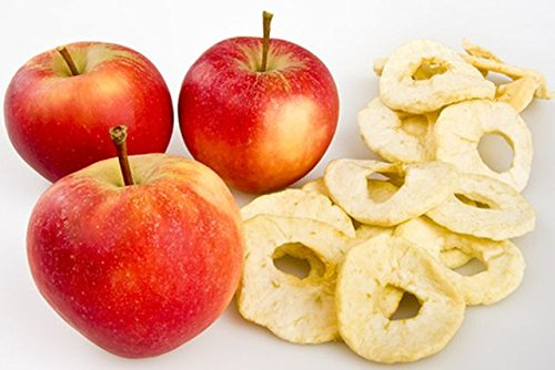 Bevorzugt Mera 1kg Getrocknete Apfelringe, natur: Amazon.de: Lebensmittel BV76