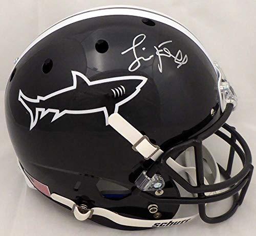 Jamie Foxx Autographed Any Given Sunday Miami Sharks Full Size Replica Helmet Beckett BAS Stock #148628