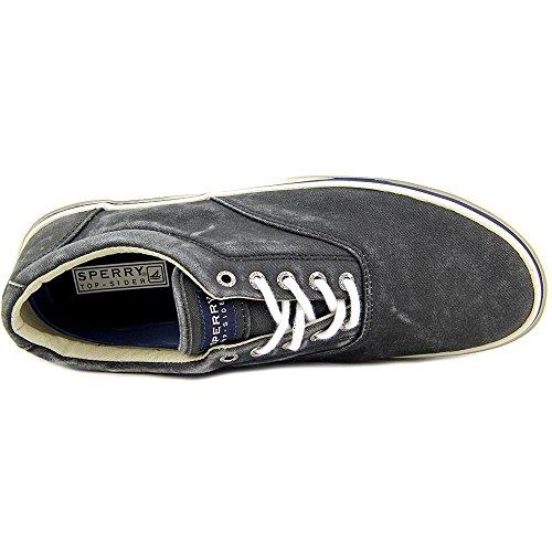 Sperry Halyard Ll Sw Nero Bootsschuhe Segelschuhe Sneaker Herren