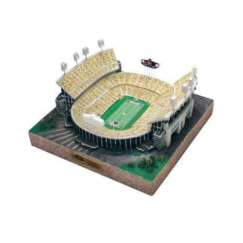 NCAA 9750 Limited Edition Gold Series Stadium Replica of Louisiana State Tigers Tiger - State Tigers Louisiana Stadium
