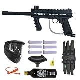 Tippmann 98 Custom PS Paintball Marker Gun 3Skull Mega Set