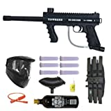 Tippmann 98 Custom Platinum Basic Series 3Skull Paintball Gun Marker MEGA Set
