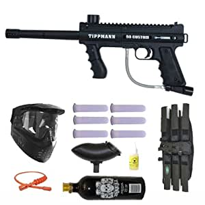 Tippmann 98 Custom PS Paintball Marker Gun 3Skull Mega Set