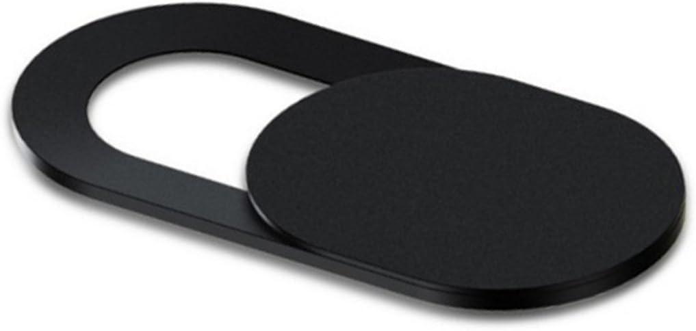 Cikuso 3pzs Pegatinas Escudo de Camara de plastico Proteccion de miradas Anti-Hacker para movil PC Tablet PC Ordenador portatil Cubierta de privacidad Negro
