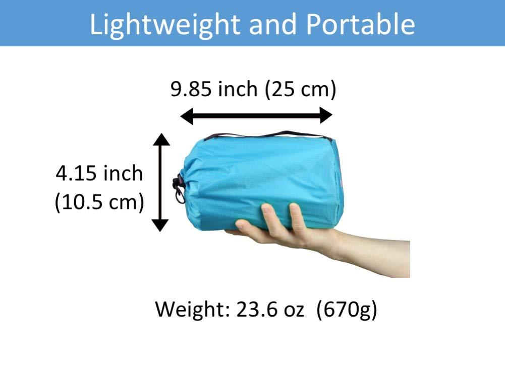 ... colchonetas de Camping para Dormir: con Bomba de Aire Tipo Bolsa Impermeable, Esterilla de Camping Ligera y compacta, el Mejor colchón Ligero para: ...
