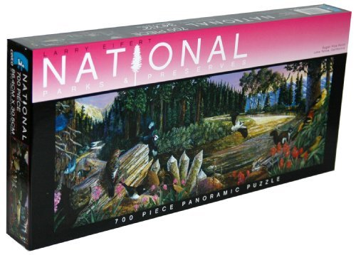 Larry Eifert National Parks & Preserves 700-Piece Panoramic Puzzle - Sugar Pine Point, Lake Tahoe, California