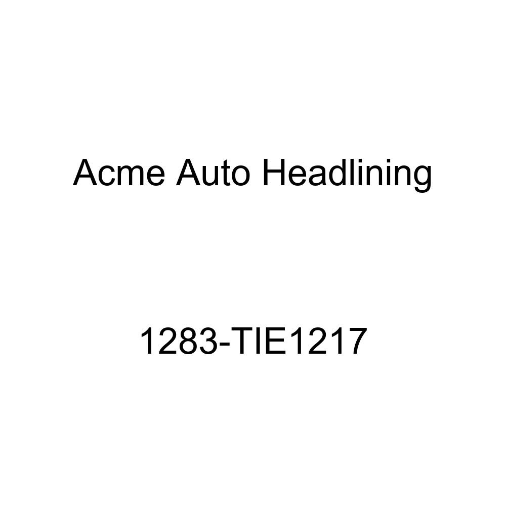 1958 Oldsmobile Dynamic 4 Door Sedan Holiday Hardtop 8 Bows Acme Auto Headlining 1283-TIE1217 Ginger Replacement Headliner