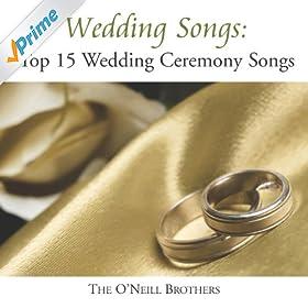 Amazon Wedding Songs Top 15 Wedding Ceremony Songs