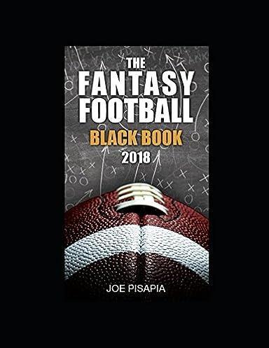 the fantasy football black book 2018 fantasy black book amazon co rh amazon co uk