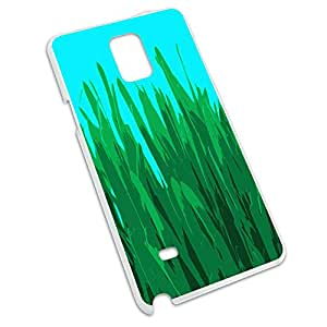 Through the Weeds - Cute Grass Snap On Hard Protective Case for Samsung Galaxy Note 4