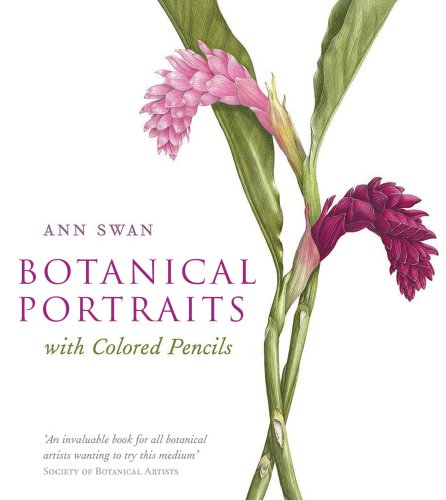 (Botanical Portraits with Colored Pencils)