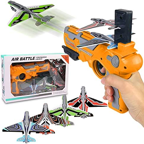 Airplane Toy, Bubble Catapult Plane Toy Airplane,...
