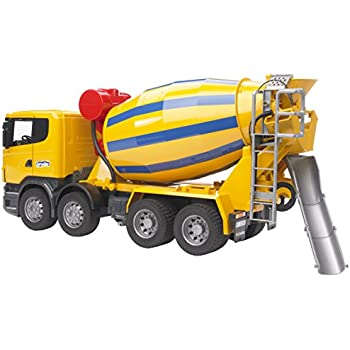 amazon com bruder mercedes benz actros cement mixer designed w