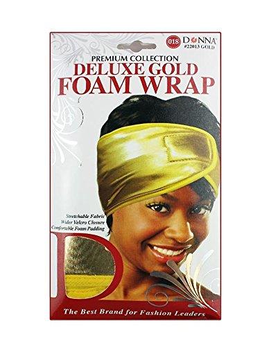 Dream Deluxe Satin (Donna's Premium Stretchable Deluxe Gold Foam Wrap (Gold))