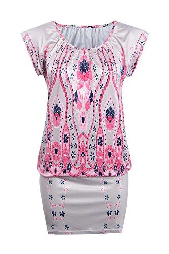 mini printed pink bag RAFAGO dress hip SFaqxd5