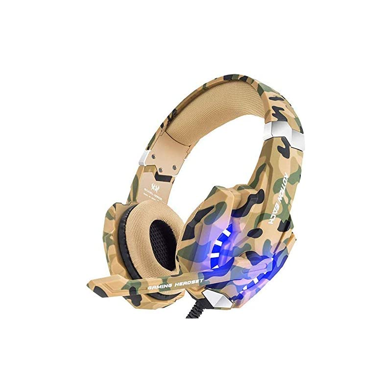 BENGOO Stereo Gaming Headset for PS4, PC