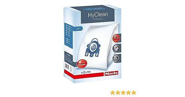 4 Bolsas de Aspiradora para Miele S272i - S 272i / S658 - S 658 / S5281 - S 5281 / S8590 - S 8590, White Pearl-Excel Human - S444I: Amazon.es: Hogar