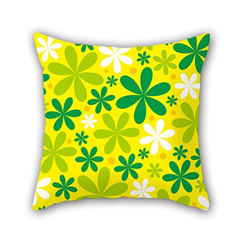 NICEPLW Throw Pillow Covers Of Leaf,for Teens Girls,birthday,seat,girls,car Seat,kids 20 X 20 Inches / 50 By 50 Cm(2 Sides) (Car Seat Cover Frogs With Leaves compare prices)