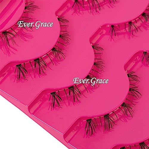 5 Pairs Black Natural Lower False Eyelashes Under Bottom Fake Eye Lashes Makeup