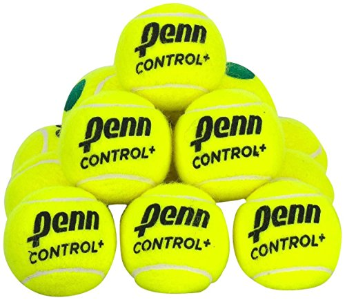 Penn Control+ Green Tennis Balls, 12 Ball ()