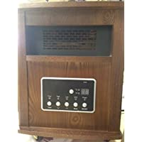 1500-Watt Radiant Infrared Portable Heater - Espresso