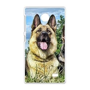 Cute Lovely Dog White Phone Case for Nokia Lumia X wangjiang maoyi by lolosakes