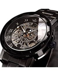 Watch,Mens Watch,Luxury Classic Skeleton Mechanical...