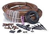 irrigation hose - Rain Bird GRDNERKIT Drip Irrigation Gardener's Drip Kit