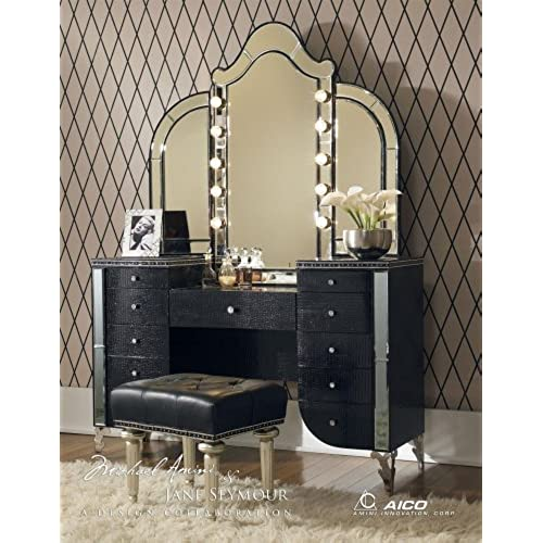 Beau Makeup Vanity With Lights