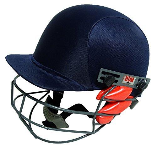 BDM Dynamic Super Blue Cricket Adjustable Helmet Head Protection ()