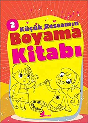 Kucuk Ressamin Boyama Kitabi 2 9789753483179 Amazoncom Books