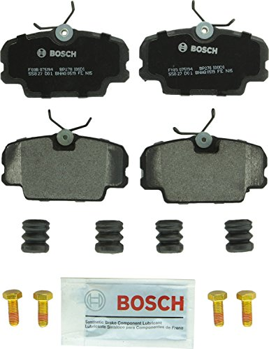 - Bosch BP278 QuietCast Premium Semi-Metallic Disc Brake Pad Set For Select BMW 325, 318i, 325e, 325i, 325is, 325iX; Mercedes-Benz 190D, 190E; Peugeot 405; Saab 900, 9000; Front
