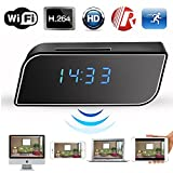WiFi Camera Clock Hidden Camera Alarm Table Clock Motion Security HD 1080P Wireless WiFi IP Spy Hidden Camera IR DV Cam Review