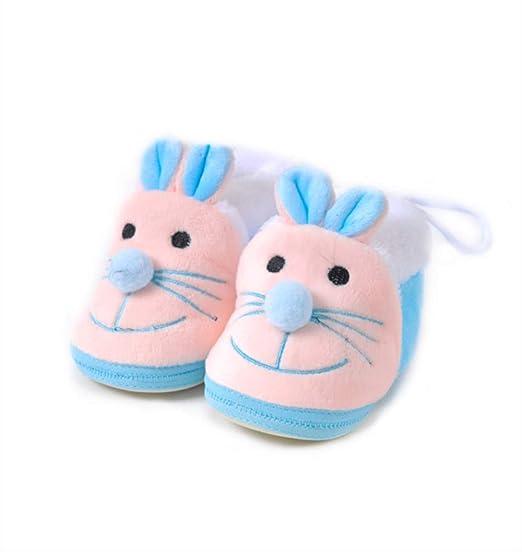 GUHUA Zapatos para Bebés, Fondo Suave Antideslizante, Algodón ...