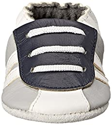 SkidDERS NWG Sneaker Bootie Slipper (Infant), Grey, 0-6 Months M US Infant
