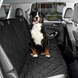 Cheap CPG DOTS Waterproof, Non-Slip, Dog Back Seat Cover | Durable Oxford Fabric & Polyester Pet Seat Covers | Scratch Proof Bench & Hammock Convertible, Rear Seat Covers for Small and Large Dogs