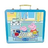 Peppa Pig DARP-CPEP132 Art Tin Case Creative Accessories Kit (60-Piece)