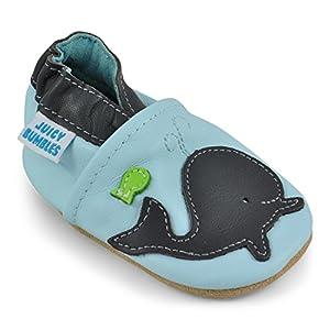 Juicy Bumbles Chaussures Bébé - Chaussons Bébé - Chaussons Cuir Souple - Chaussures Cuir Souple Premiers Pas - Bébé Fille Chaussures Bébé Garçon 4