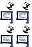 Samsung SM-V700 Smartwatch Battery Combo-Pack Includes: 4 x SDMP-P676 Batteries