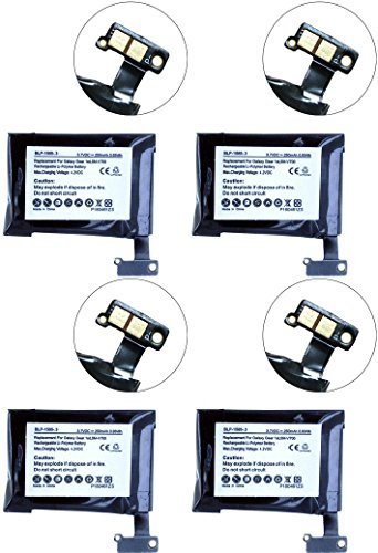 Samsung SM-V700 Smartwatch Battery Combo-Pack Includes: 4 x SDMP-P676 Batteries by Synergy Digital