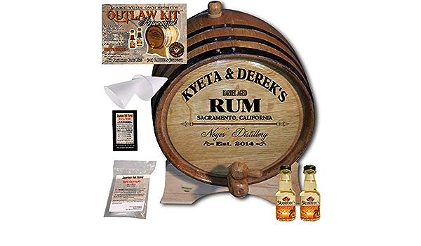 Personalizado Outlaw Kit (Ron de coco) de diseño de barril de ...