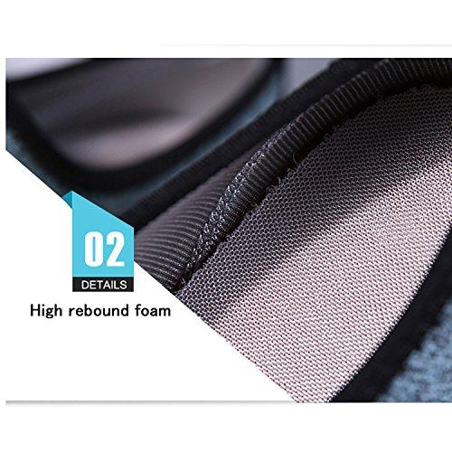 Baskets Noir Noir 24 pour Femme EU Mode Tisomen cm 38 I1qxS6n