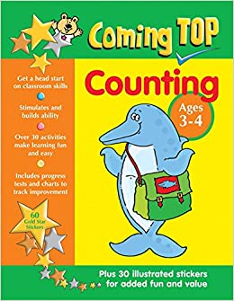 4cdbb59339c Buy Coming Top  Counting - Ages 3-4 Book Online at Low Prices in ...