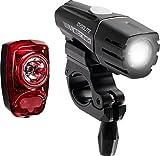 Cygolite Streak 350 USB Rechargeable Bicycle Headlight & Tail Light Combo Set