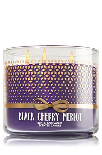- Bath Body Works Black Cherry Merlot 3 Wick Scented Candle