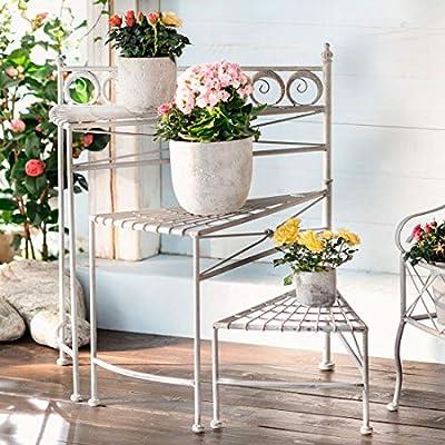 26 en. Tall 3 pisos escalera de caracol plegable Metal Garden Plant función atril, plegable producto SKU: gd221406: Amazon.es: Bricolaje y herramientas