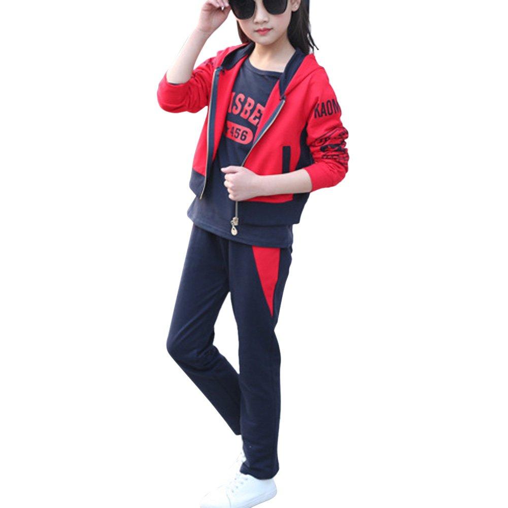 MAOMAO - Chándal - para niña rojo 150 cm/10-11 Años: Amazon.es ...